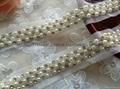 釘珠花邊 手縫鑽條碼 珠繡條帶 3