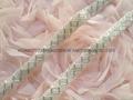 釘珠花邊 手縫鑽條碼 珠繡條帶 5