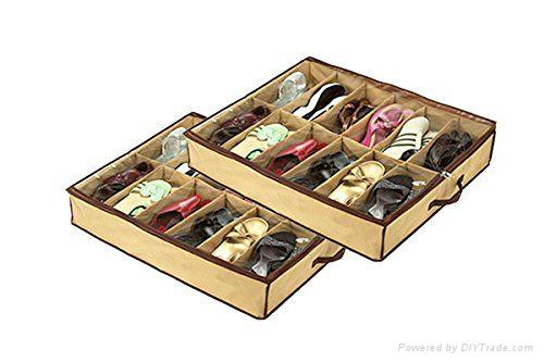 12双鞋子可折叠储存箱 2