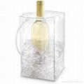 透明PVC 紅酒袋冷藏袋