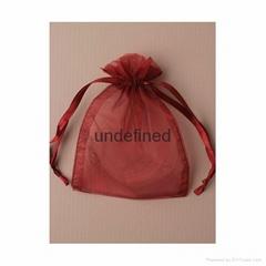 歐根紗束繩禮品袋