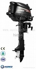 4 stroke 5hp marine engine from Hidea