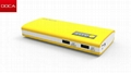2014 newest design DOCA D566 cheap power bank with big capacity