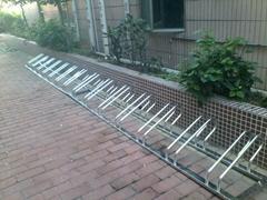 304不鏽鋼自行車停放架 電動車停放架