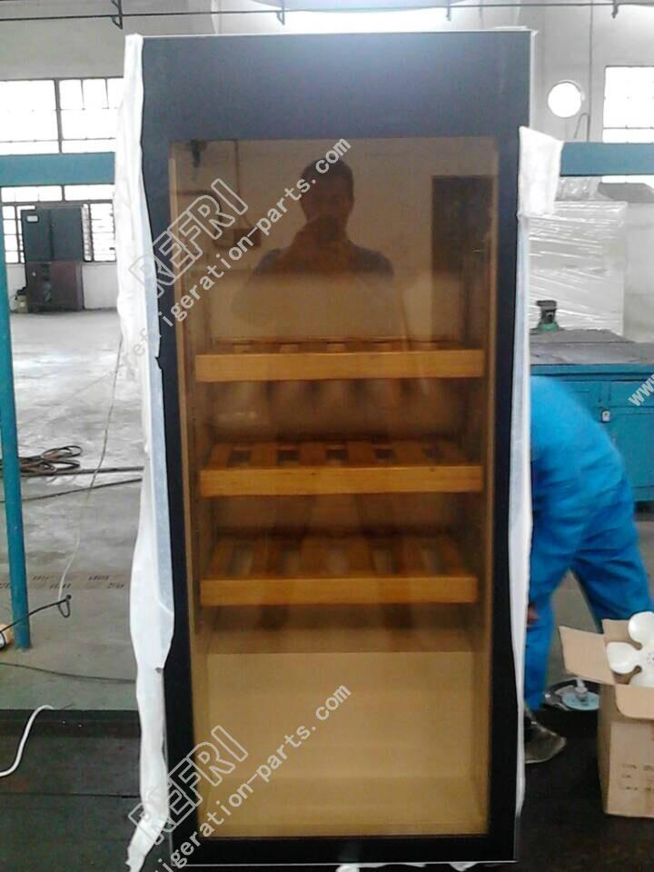 Wine Cooler Glass Door with Screen Printing 4