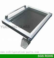 小冷櫃鋁合金框玻璃門