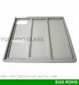 Freezer Sliding Glass Door with 3 Doors