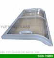 Double Curved Glass Door