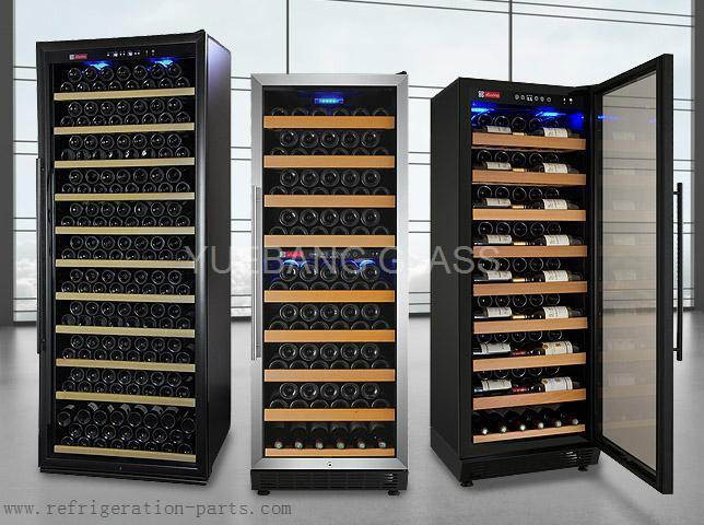 Wine Cooler Glass Door with Screen Printing 5
