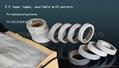 composite pure PU printed waterproof seam sealing tape for printed garments spor 4