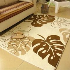 Bochang Microfiber Flannel Floor Carpet Bedroom and Kitchen