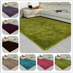 Bochang Microfiber Silk Wool Mat Floor Rug