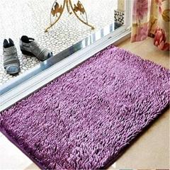 Bochang Microfiber Chenille Rug Floor Carpet Customized Color