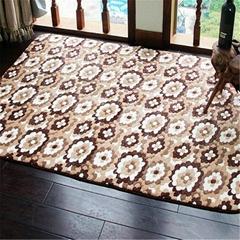 Coral Ve  et Printing Rug Floor Carpet Customized