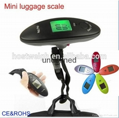 Hot sell 40kg 10g portable electronic dgital luggage scale NS-26