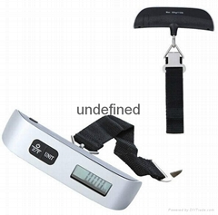 OEM 50kg/110lb portable electronic dgital luggage scale with CE&ROHS