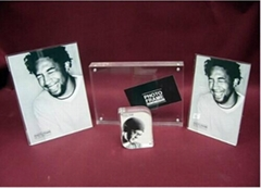 Acrylic Glass Photo Frame