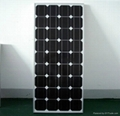 100瓦单晶太阳能电池板12V