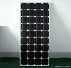 100瓦單晶太陽能電池板12V電瓶直沖