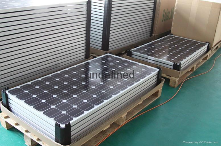 太阳能电池板120W瓦多晶光伏发电系统专用 5