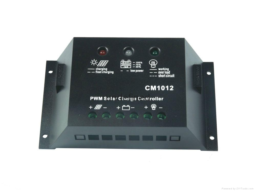 12/24V10A太阳能控制器光伏发电系统专用控制器 4