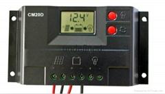 20A太阳能控制器电池板光伏太阳能发电系统专用12v24v