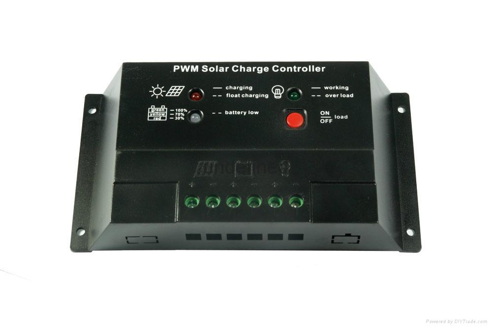 20A太阳能控制器电池板光伏太阳能发电系统专用12v24v 4
