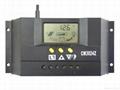 太阳能控制器48V30A双路输出数显自动识别光控定时USB充电 2
