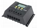 太阳能控制器LCD显示CM6024-60A-12V24V家用太阳能充电控制器 5