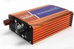 12V轉220V300W高頻純正弦波家船用車載電源轉換逆變器