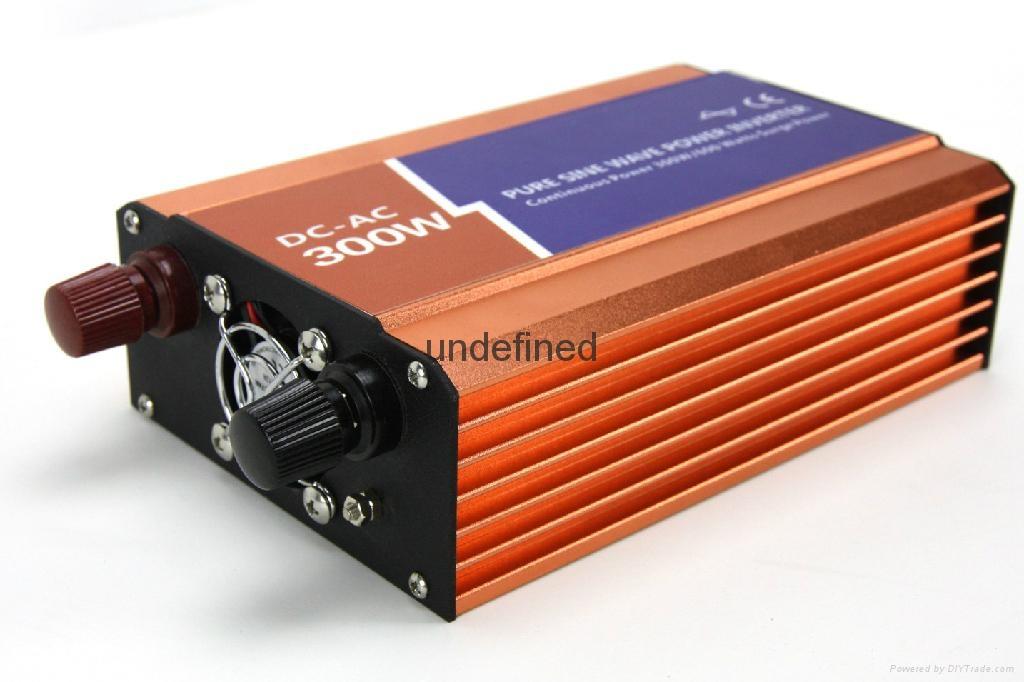12V转220V300W高频纯正弦波家船用车载电源转换逆变器 2