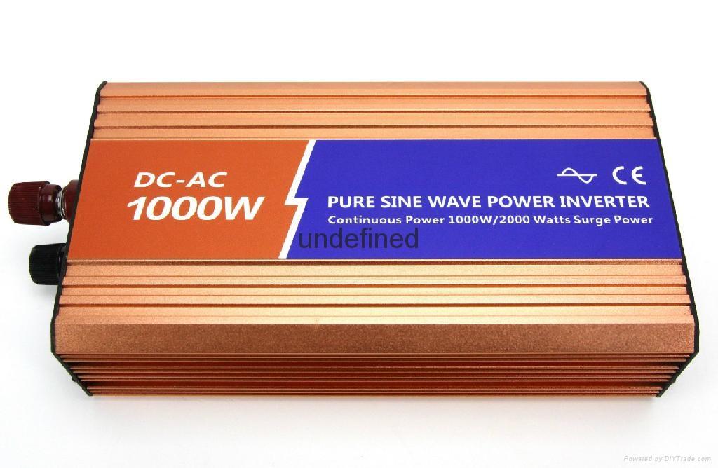 12V/24V/48V转220V1KW1000W纯正弦波高频大功率逆变器 3