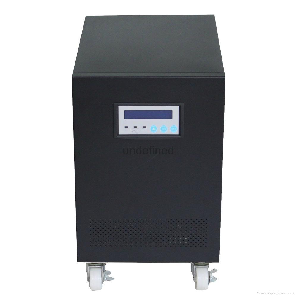 4000w工频逆变器纯正弦波太阳能系统 UPS不间断电源 市电互补功能 1