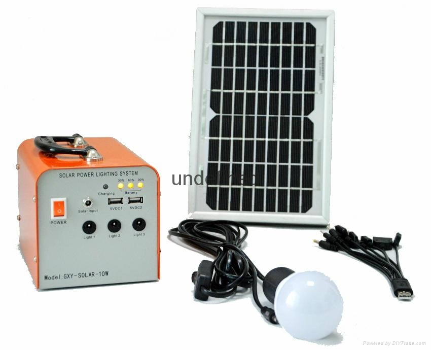 10W便携式太阳能充电宝 4