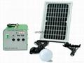 10W便携式太阳能充电宝 2