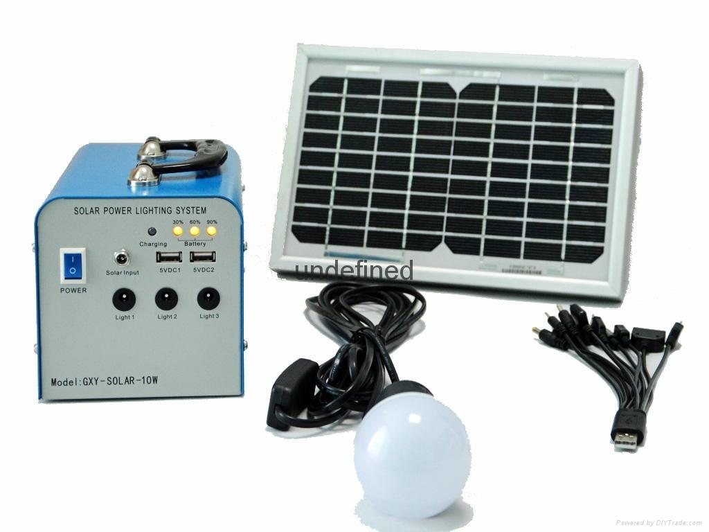 10W便携式太阳能充电宝 1
