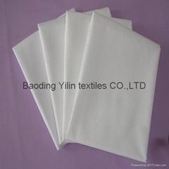 stock cotton grey fabric