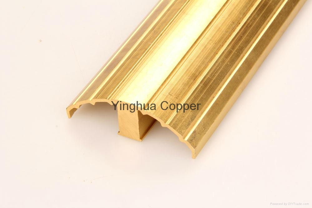 Copper Extruded Shapes : Copper extrusions profile china manufacturer bars