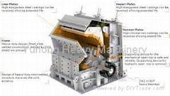 2014 new model Yuhong mining impact crusher