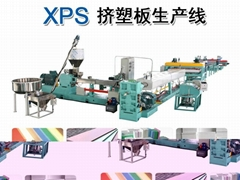 XPS CO2发泡板材生产线