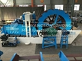 Sand washer in multiple function, for