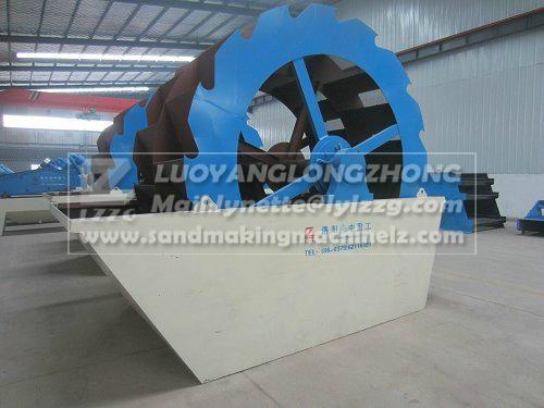 XSD2610 Sand washing machine in mini type working site 1