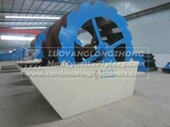 XSD2610 Sand washing machine in mini type working site