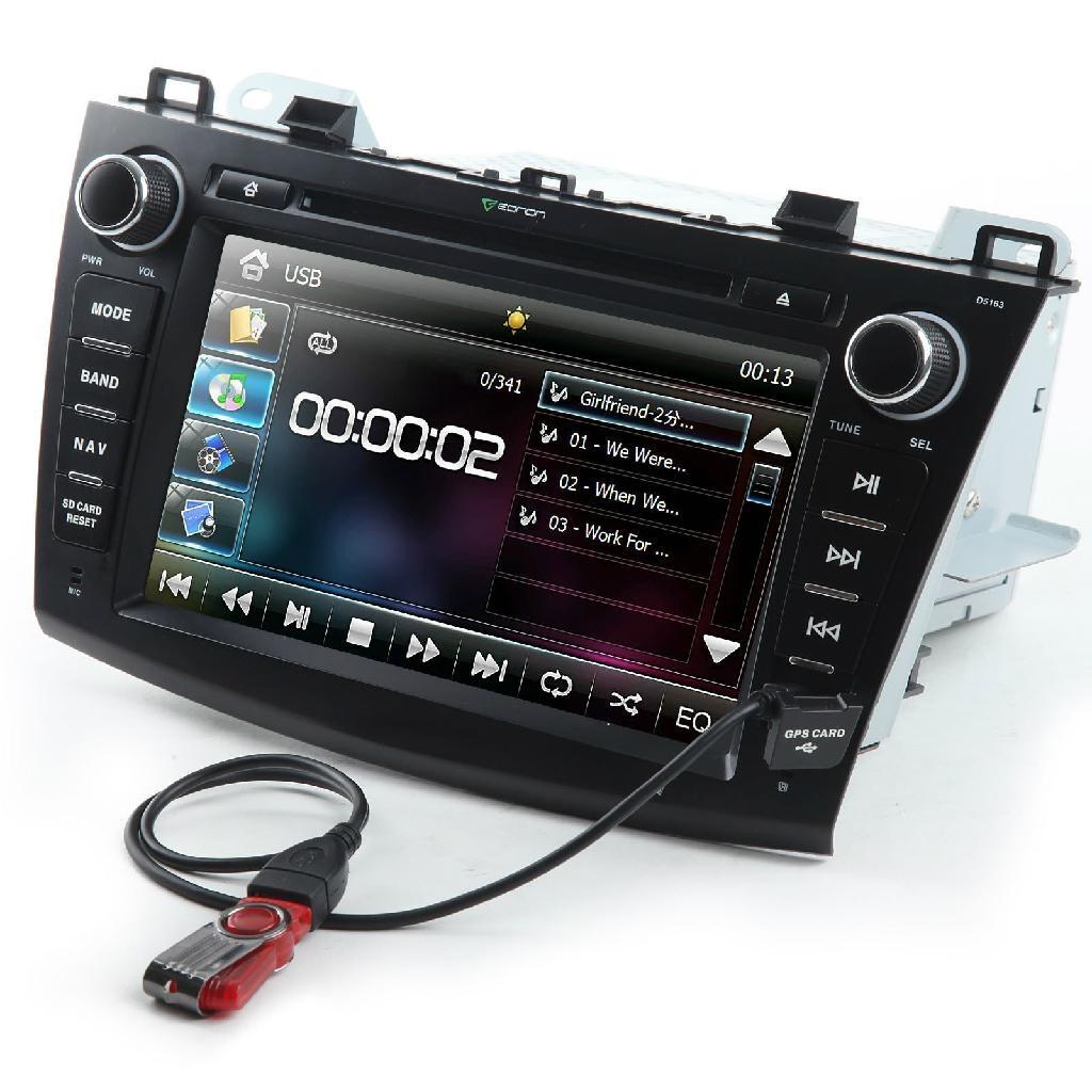 "8"" Car Stereo Radio Bluetooth Ipod Dvd Player Gps Navigation For Honda 1"
