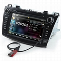 "8"" Car Stereo Radio Bluetooth Ipod Dvd"