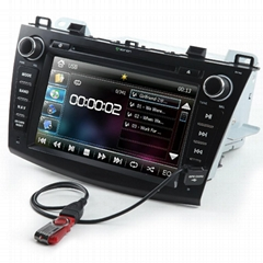 "8"" Car Stereo Radio Bluetooth Ipod Dvd Player Gps Navigation For Honda"