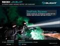 Olight Newly-launched M20SX Javelot flashlight 820lumens/370meters