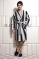 Men's long bathrobe