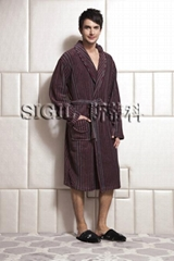 Men's Long bathrobe