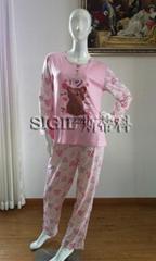 女式睡衣套裝